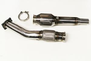 Hosenrohr Downpipe für Golf 4 1.8T, Audi A3 TT 1.8T, Seat Leon 1.8Tø 76mm aus Edelstahl