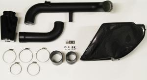 Ansaugung Carbon für Golf 6 GTI, Scirocco, TT 8J, Seat Leon mit Teilegutachten nach § 19.3 bis 380PS