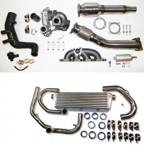 1.8T upgrade Turbo Kit für Golf 4, Audi A3, Seat Leon bis 260PS plug and play mit Sportkat 200 Zeller