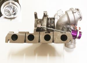 Turbolader upgrade Hybrid K04-064 für 2.0 TFSI Audi S3, TTS, Golf 6 R GTI, Cupra R bis 420PS 53049880064 + GTX2867R Verdichterrad + K16 Welle EA888