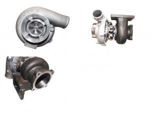 Turbolader GT3076 HF High Flow 60A/R - 82A/R T3 Flansch gleitgelagert