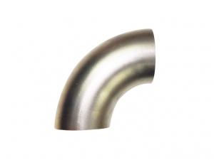 Edelstahlrohrbogen 90° Grad ø 70mm V2A 1,5mm Wandstärke 1.4301