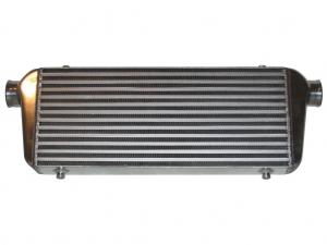 Ladeluftkühler 550x230x65mm Alu - Anschlüsse 63 mm außendurchmesser Ad intercooler bis 5 Bar