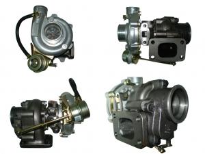 Turbolader T3 320PS mit Wastegate 42A/R 71>58mm - 48A/R 360° Renngelagert T3 Flansch