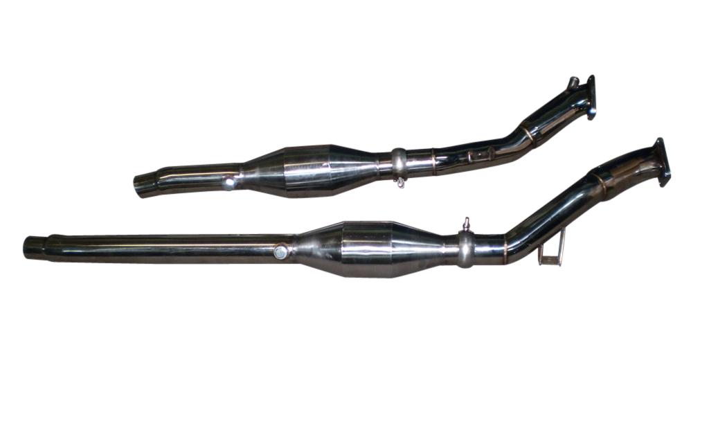 Hosenrohr Downpipe 2 7L Bi-turbo für Audi S4 RS4 200 Rennkat