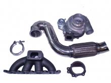 Turbokit 1.8T Golf 4, Audi A3, TT GT28RS+ Downpipe+Kr�mmer+V-Band bis 340PS
