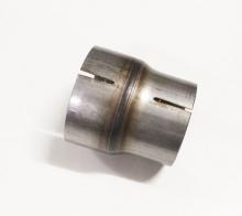 Reduziermuffe Stahl 89mm innen (92mm außen) auf 76mm innen (79mm außen) L 100mm