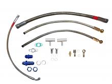 Öl und Wasseranschlusskit für VW 16v G60 Turbo für GT28 GT30 GT35