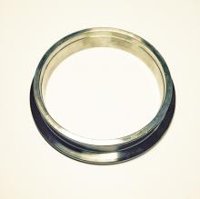 Anschweißring aus Edelstahl 95>76mm