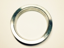 V-band 63,5mm aus Edelstahl 1 Anschweißring weiblich
