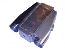 wassergekühlter Ladeluftkühler bis 650PS 76mm Anschlüsse wassergekühlt