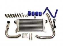Ladeluftkühler kit für Audi A4, A6 1.8T B5 C5 + Passat 3B bis 10% Mehrleistung ø 51mm Rohrdurchmesser