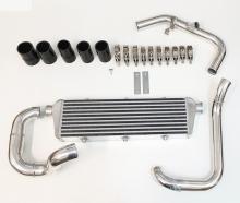 Ladeluftkühler kit für Audi A3, Golf 4 1.8T FMIC ø 51mm + ø 60mm