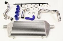 Ladeluftkühler kit für Audi A4, A6 1.8T B6 bis 10% Mehrleistung ø 51mm Rohrdurchmesser