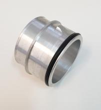 Klickadapter für 2.0 TFSI Ladeluftkühler 261004, 261009, 261017 - Ad ø 64,5mm Klickseite - Ad ø 60mm Schlauchseite