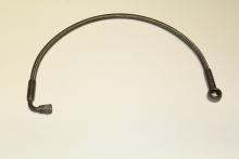 Ölzulaufleitung PTFE 50cm für 90° 7/16 UNF andere Seite Ringauge ø 14mm