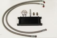 Ölkühlerkit VR6 komplett mit 13 Reihigen Ölkühler schwarz