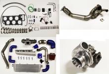 VR6 Turbokit komplett GT30 + Krümmer einbaufertig plug and play bis 400PS