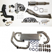 1.8T upgrade Turbo Kit für Golf 4, Audi A3, Seat Leon bis 260PS plug and play ohne Kat