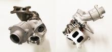 Turbolader upgrade bis 550PS für IS38 06K145722H für Audi S3 8P, Golf 7 R kugelgelagert 67,4>49,7mm - 57>51mm