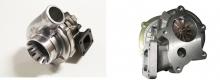 Turbolader GTR-485 HF (GT3076, GT30) 485PS 70A/R-63A/R 360° Renngelagert T3 Flansch