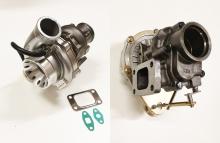 Turbolader GTR-485 HF (GT3076, GT30) 485PS 360° Renngelagert mit Wastegate T3 Flansch