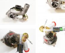 upgrade Turbolader K04-001 53049500001 für Audi A3 1.8T, Golf 4 1.8T bis 300PS Verdichterrad 60>46,5mm