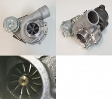 Turbolader upgrade K04-015 für Audi A4, A6 1.8T, Passat 1.8T bis 300PS Verdichterrad 60>46,5mm - Turbinenrad 50>42mm