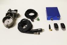 Klappensteuerung ø 63,5mm 2,5 elektrische Auspuffklappe Edelstahl mit Ansteuerung