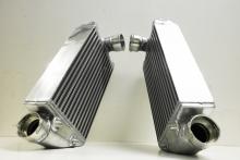 upgrade Ladeluftkühler für Porsche 996 Turbo bis 750PS rechts + links aus Alu