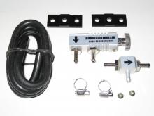 Boost Controller/Ladedruckregler mechanisch silber / Lila