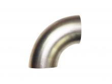 Edelstahlrohrbogen 90° Grad ø 76mm V2A 1,6mm Wandstärke