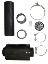 Carbonlook Airbox Luftfilter 76mm Anschlüsse Cold air intake