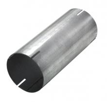 Edelstahlrohr Steckverbinder innen ø 76mm Länge 150mm