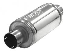 Schalldämpfer universell Simons ø 63,5mm 2,5 rund 125mm L 250mm Edelstahl