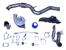 Turbokit Fiat Coupe 20vt bis 450PS  GT3082HF + Downpipe + Kr�mmer + WG bis 450PS