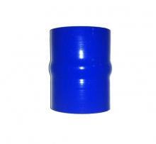 Silikon Faltenbalgverbinder 60mm innendurchmesser blau 4lagig 5mm Wandstärke