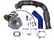 Turbokit f�r Fiat Punto GT 1.4 mit GT2571 Turbolader + Downpipe bis 260PS