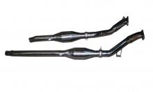 Hosenrohr Downpipe 2.7L Bi-turbo für Audi S4 RS4 200 Rennkat