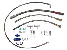 Öl- und Wasseranschlusskit für VR6 R32 Motoren für gleitgelagerte Turbolader