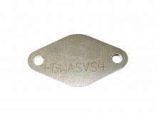Flansch für Wastegate 38mm aus Stahl Verschlussplatte um Wastegateanschluss blind zu legen