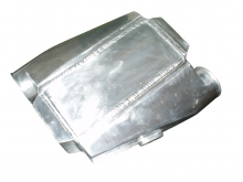 Ladeluftkühler wassergekühlt bis 650PS 76mm  Anschlüsse gedreht wassergekühlter