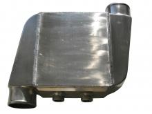 wassergekühlter Ladeluftkühler bis 1000PS 89mm Anschlüsse versetzt wassergekühlt