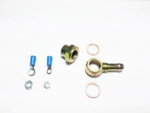 Anschluss für Benzinpumpe Ringauge 12mm auf 8mm Schlauchanchluss mit Verschlusskappe